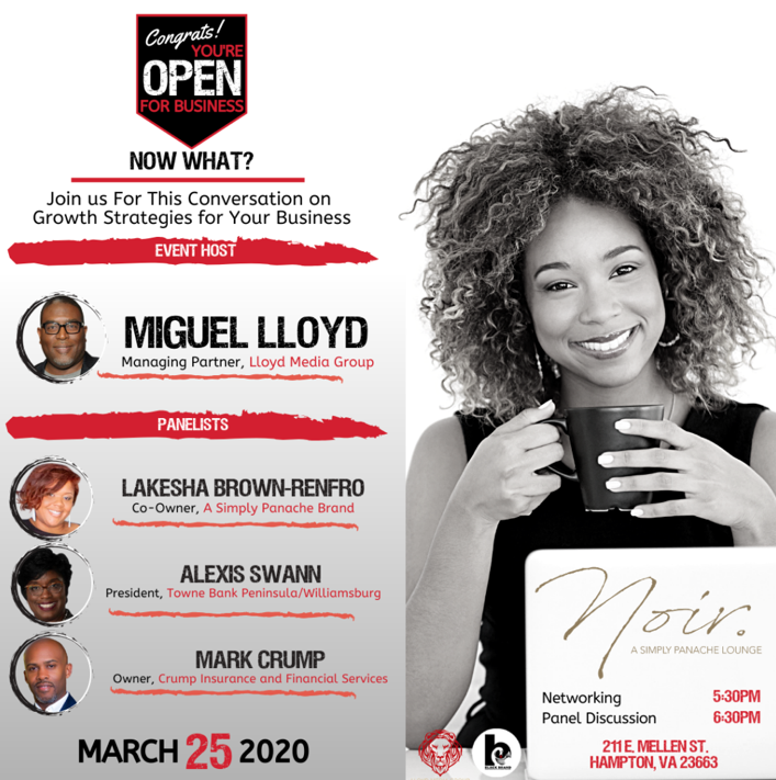 Event: Congrats! You're Open for Business. Now What?