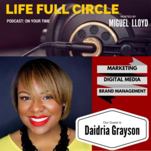 Marketing Talk with Industry Vet Daidria R. Grayson